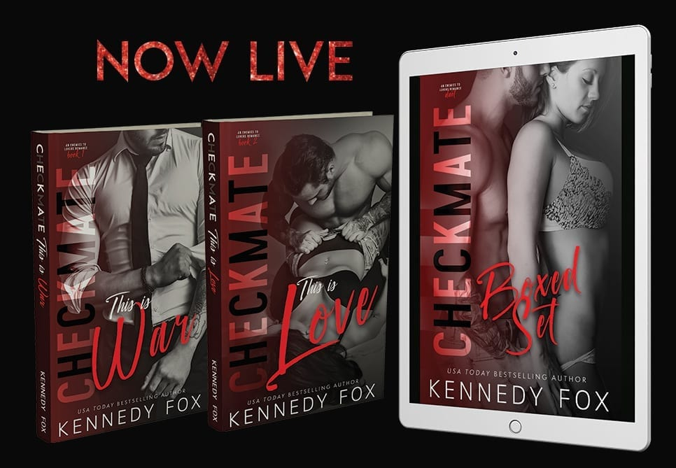 The Checkmate Duet Boxed Set is NOW LIVE!