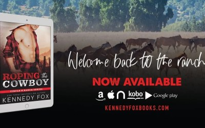 Roping the Cowboy Release Day!