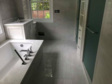 porcelain tile master bath ideas