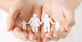 family-hands