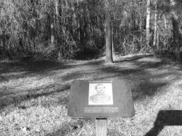 Brigadier General Charles Harker was mortally wounded in these woods while riding his white horse toward Confederate lines