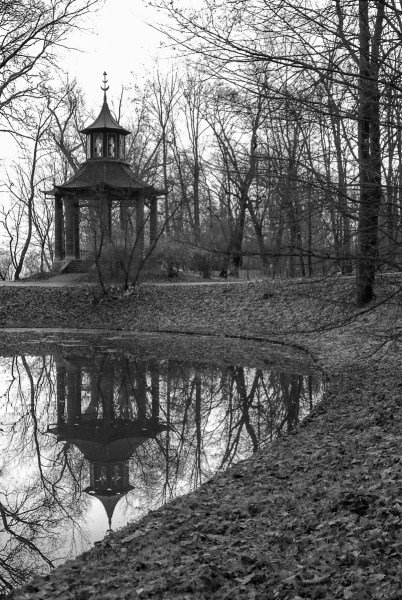 Gazebo in a park in Poland. Photo by Kenneth Carranza