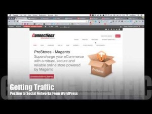 Getting Traffic - Posting to Social Networks from WordPress