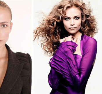 Supermodels With and Without Makeup