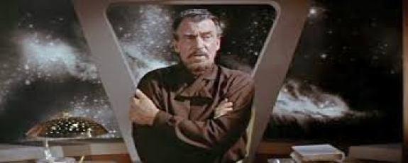 Walter Pidgeon in Forbidden Planet