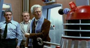 Bernard Cribbins in Daleks Invasion: Earth 2150 AD.