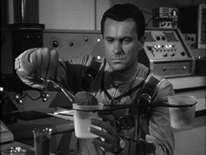 Dabney Coleman in The Outer Limits episode. Specimen Unknown.