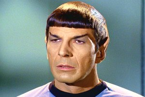 Leonard Nimoy passed away today at 83. Here he is as Spock.