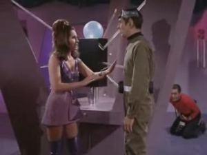 Marj Dusay in Star Trek