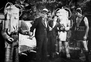 C. Montague Shaw (center)  in Undersea Kingdom