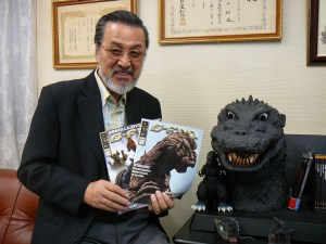 Akira Takarada acted in many of the Godzilla movies