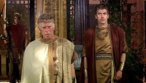 Philip Davis in the Doctor Who episode, The Fires of Pompeii.