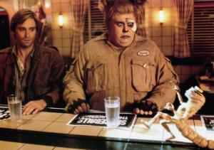 Bill Pullman (left) in Spaceballs