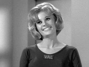 Pamela Austin in The Twilight Zone: Number 12 Looks Just Like You