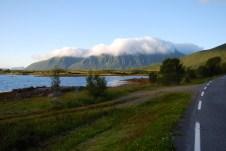 Vy från Andøya, Nordnorge