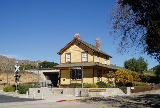 Old Southern Pacific Station, Santa Susana, California