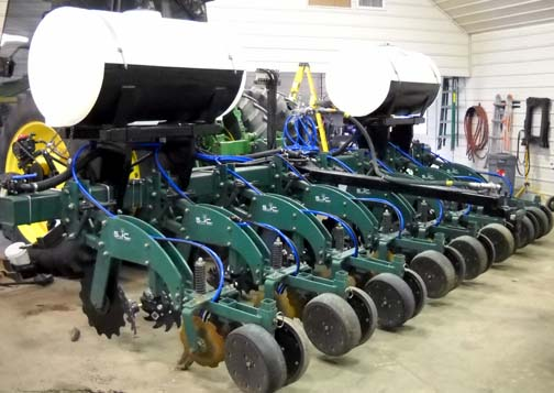 anhydrous equipment
