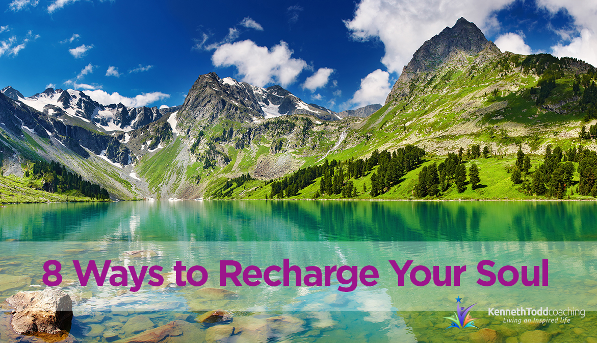 8 Ways to Recharge Your Soul