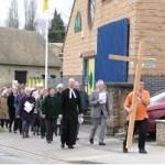 Walk of witness passing Kennington Village Centre