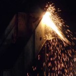 More sparks fly