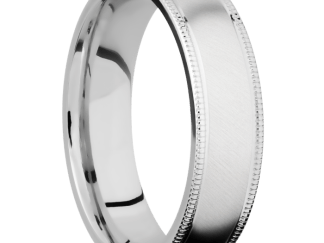 download 1 - Cobalt Chrome Angle Satin Finish Men's Ring