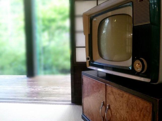 昭和と言えば ブラウン管テレビ