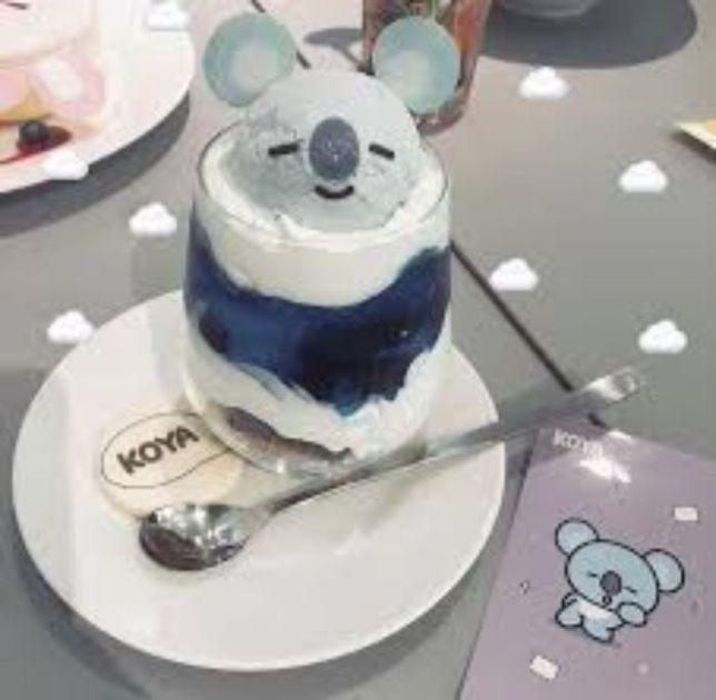 青色食べ物 韓国1
