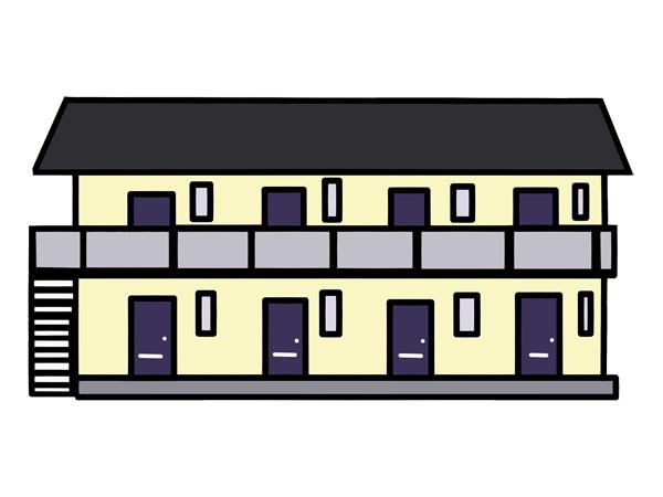 アパート 落雷