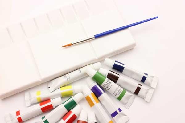 絵の具 筆