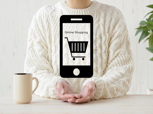 ネットショッピング スマートフォン