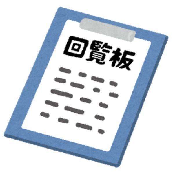 回覧板の準備・回覧と挨拶文の作成