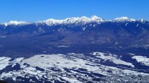 富士見パノラマ 入笠山 スキーで登って遊び尽くす冬