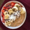 Smoothie Bowl Detox After Vacation or Holiday