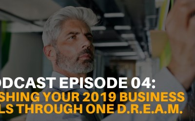 Podcast Ep. 04: Smashing Your Business Goals through One D.R.E.A.M.