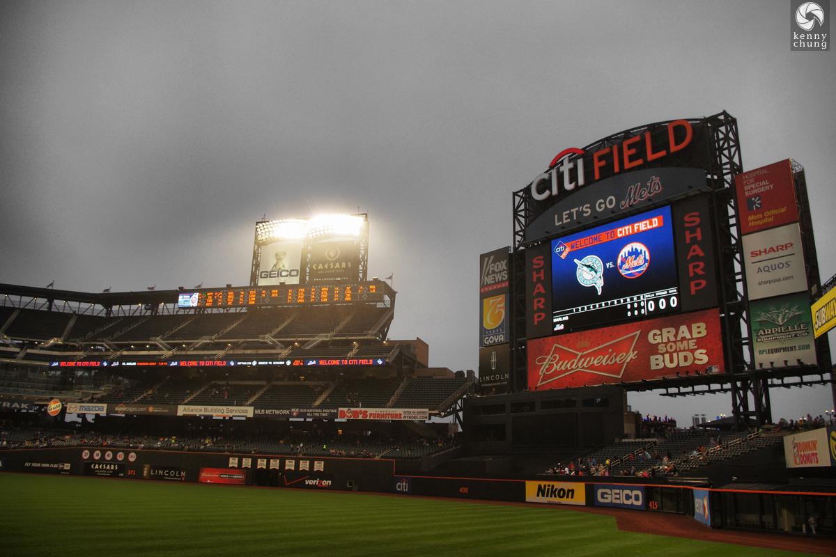 NY Mets Vs Florida Marlins May 16 2011 At Citi Field