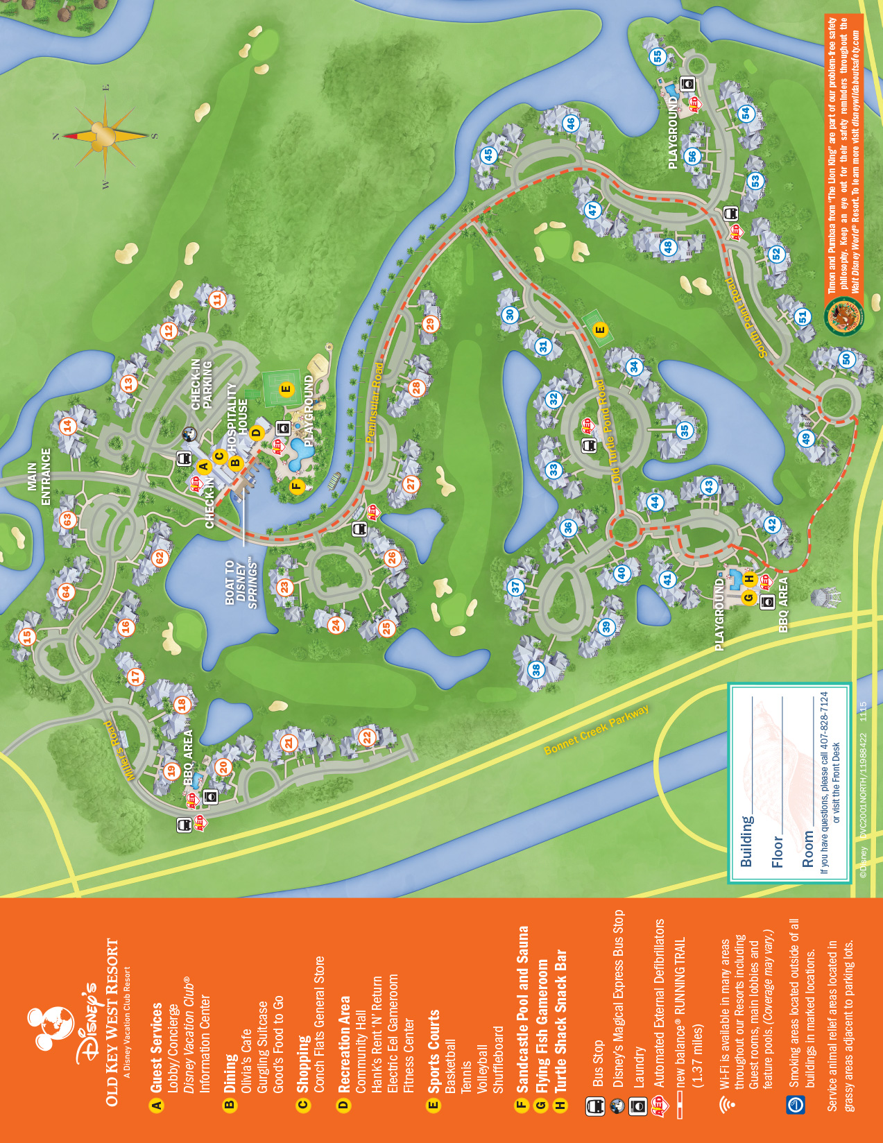 Old Key West Resort Recreation Activities Guide
