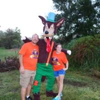 Big Bad Wolf at the Happy Haunted 5K Trail Run