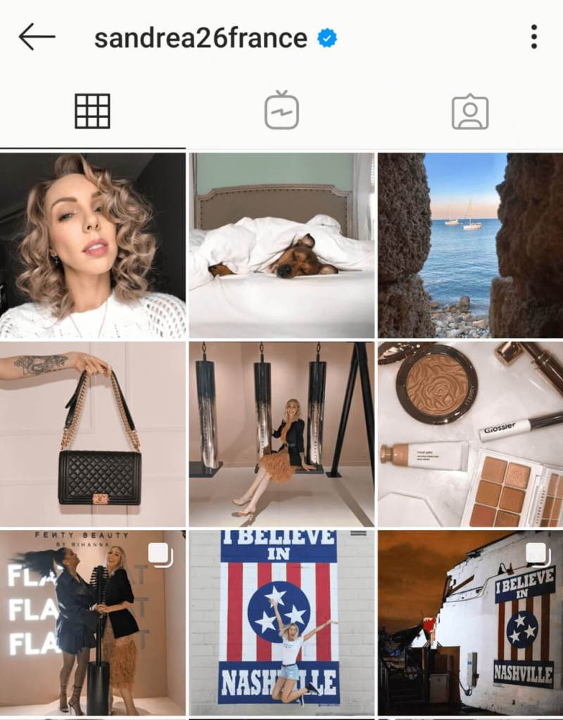 Compte Instagram Influenceuse à plus d'un million d'abonnés : Salaire influenceur