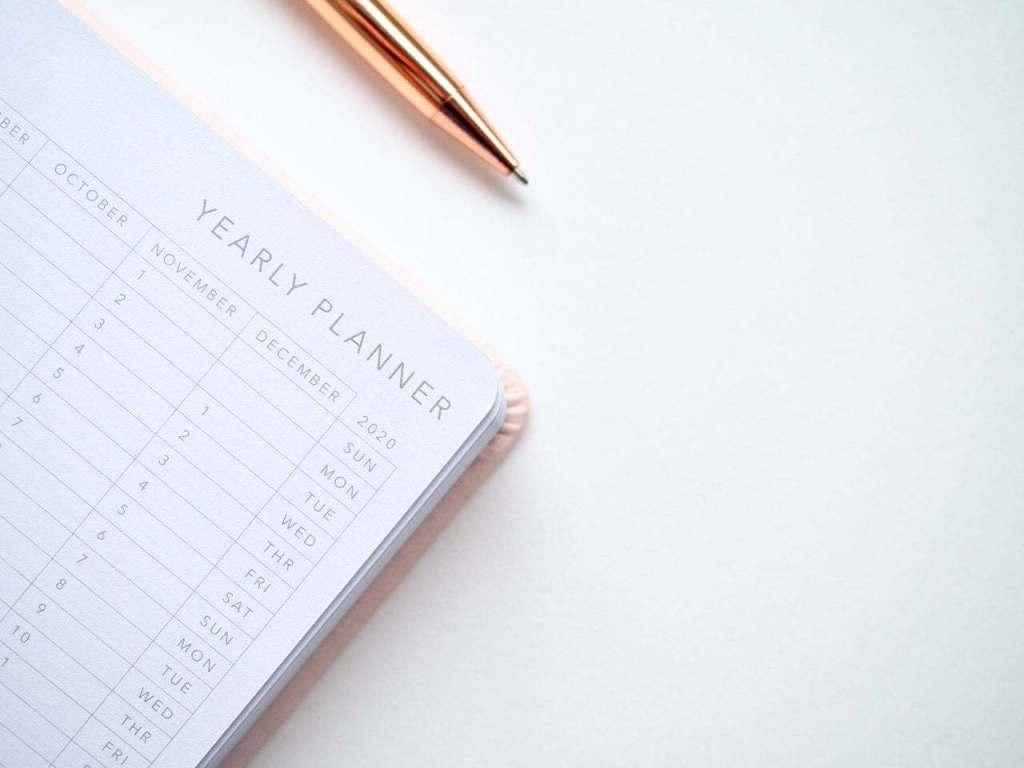 image d'illustration montrant un calendrier, présentant la partie Outil instagram de planification pour les publications Instagram.