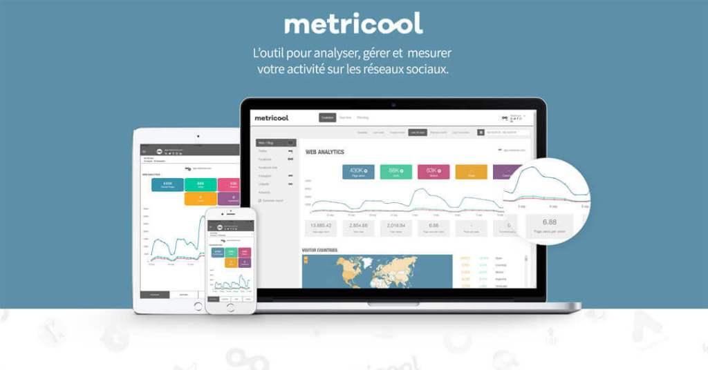 Outil instagram metricool, il s'agit d'un image de présentation de l'outil.