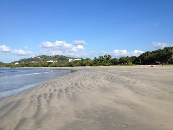 all wells that ends well- at a surfing beach in Tamarindo on the Pacific Coast