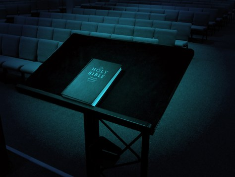 Pulpit and Bible
