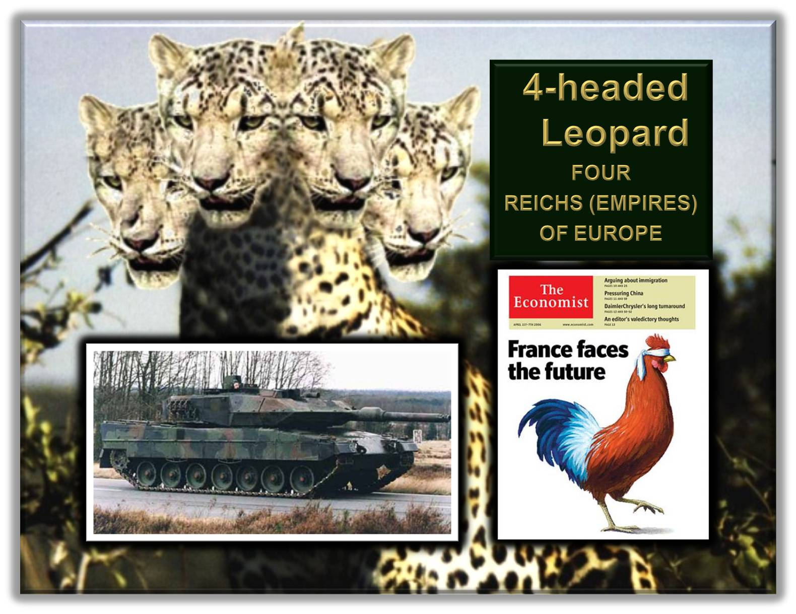 Four-head Leopard