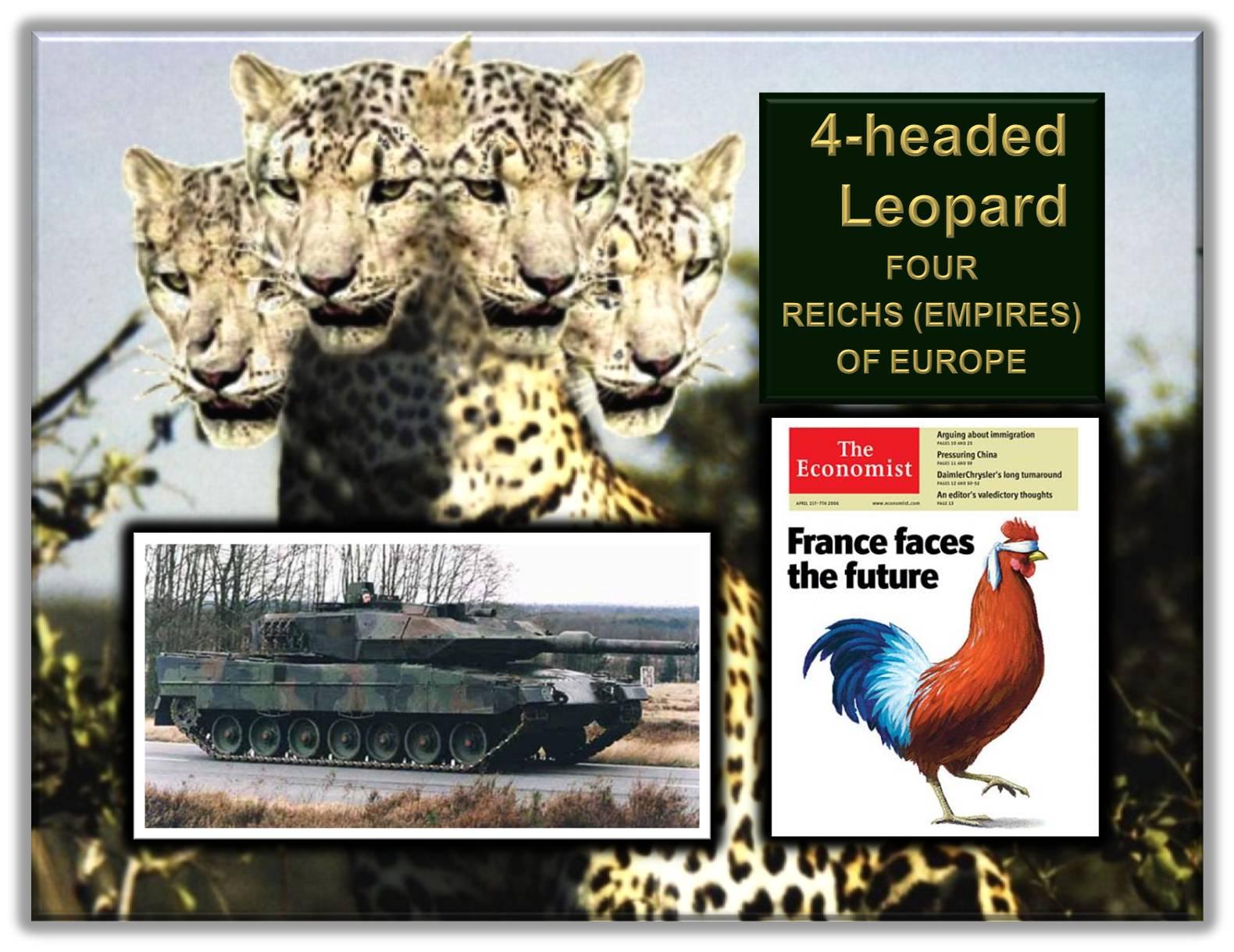 Four-head Leopard