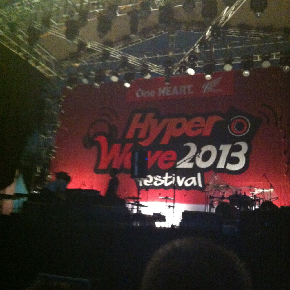 LIVE REPORT: VAMPS at Hyper Wave Festival in Jakarta (November 29, 2013) (4/6)