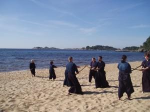 Kata on the beach