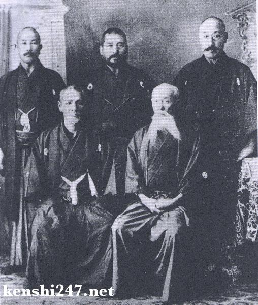 Kendo kata committee members