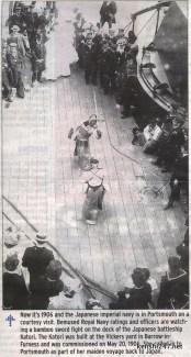 1906 - Navy ship