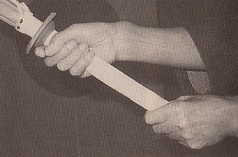 The shinai grip