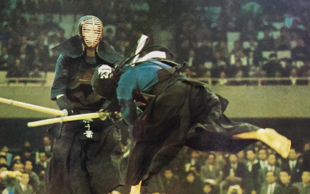 Chiba vs Yano, 17th All Japan Champs 1969